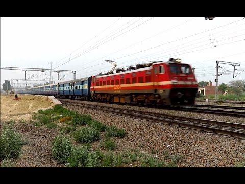 Back to Back Superfast Trains rushing towards Delhi : Mewar, GT, TN and more