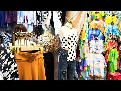 ประตูน้ำวันที่7/4/2564 เสื้อผ้าแฟชั่นราคาส่งและปลีก/เสื้อผ้าวัยรุ่น