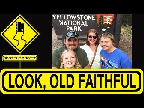 Spot the Scotts: Yellowstone National Park: Old Faithful, Mud Pots & Geysers! ~ RV TRIP {#99}