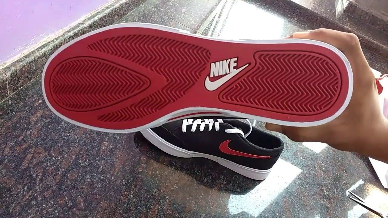 sports shoes 608d0 253d3 Nike Men Black Red GTS 16 TXT Sneakers unboxing