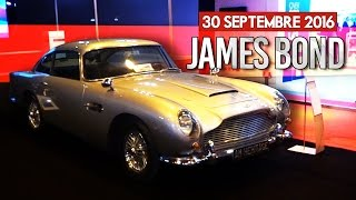 LA VOITURE DE JAMES BOND !