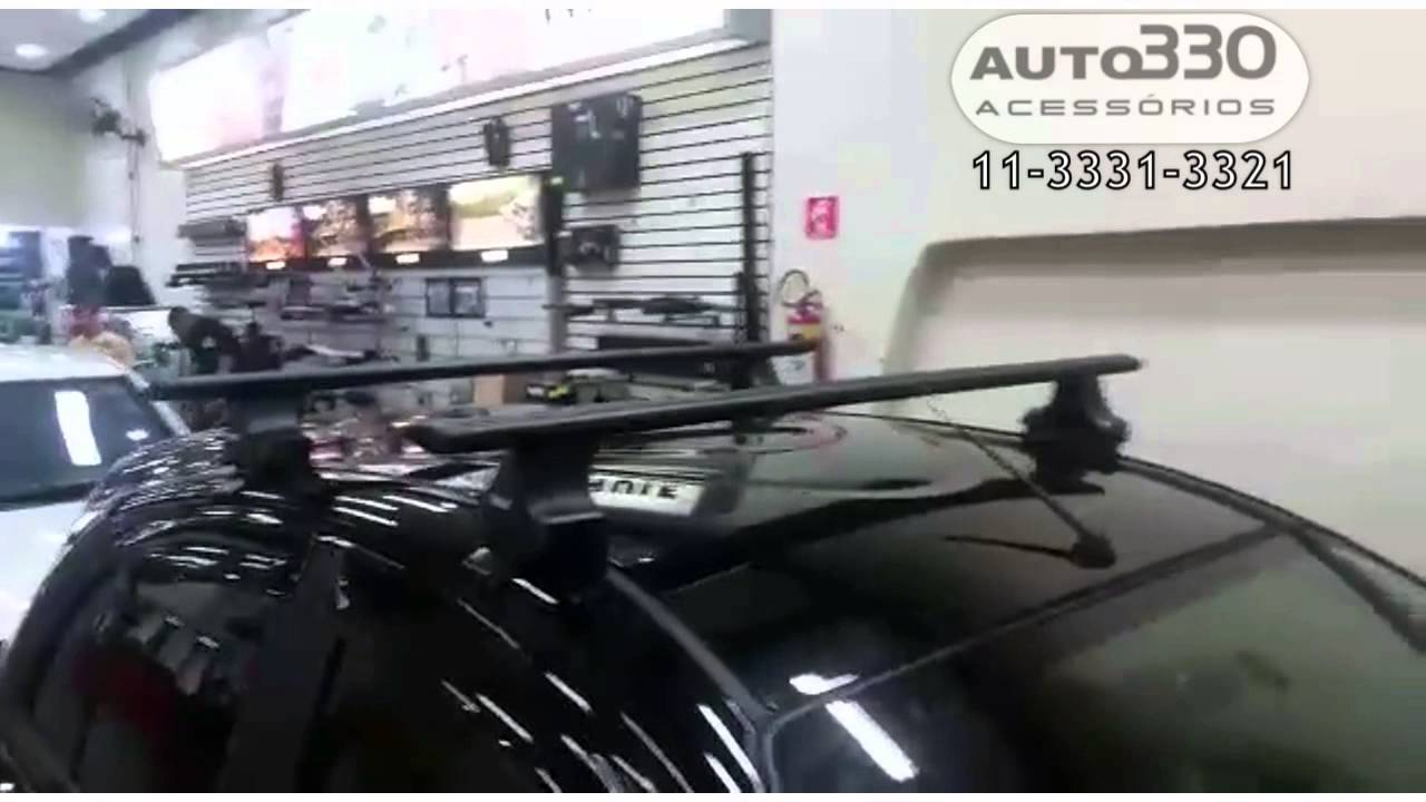Rack De Teto Thule Nissan March Auto330 Youtube