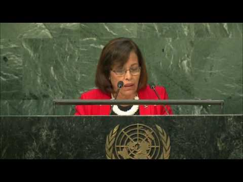 MARSHALL ISLANDS - PRESIDENT ADDRESSES GENERAL DEBATE, 71ST SESSION