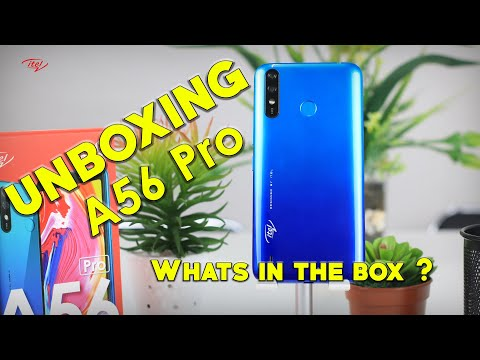 A56 Pro Unboxing Video
