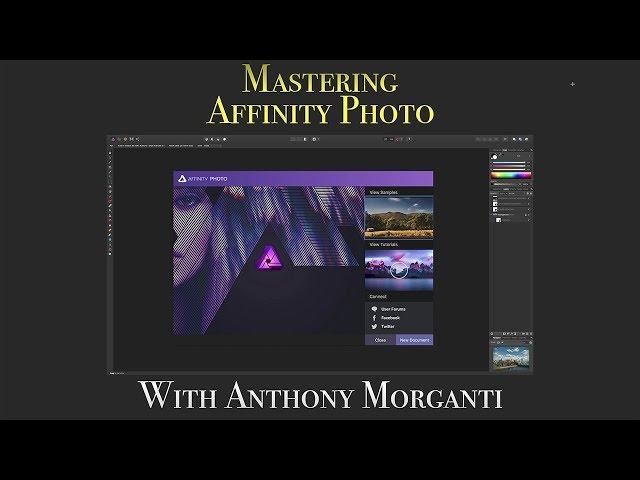 Mastering Affinity Photo