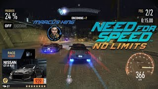 Need for Speed No Limits Final Boss Race Marcus King VS NISSAN GT-R R35