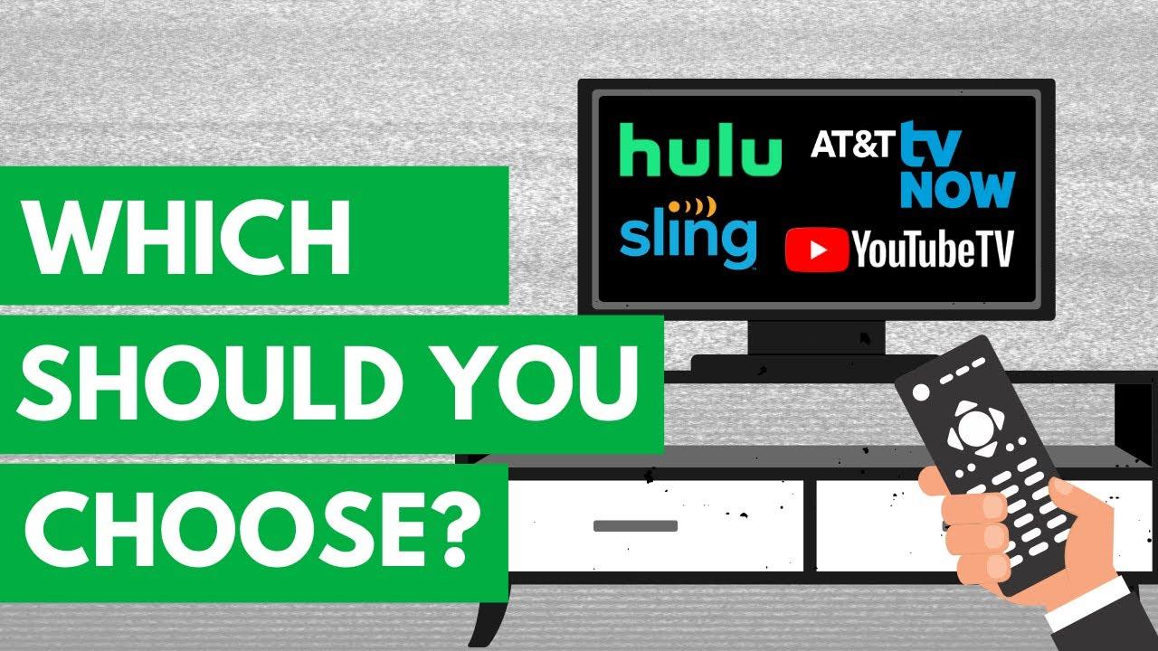 Best Streaming Tv Service Youtube Tv Vs Hulu Live Vs Sling Tv Vs At T Tv Now Youtube