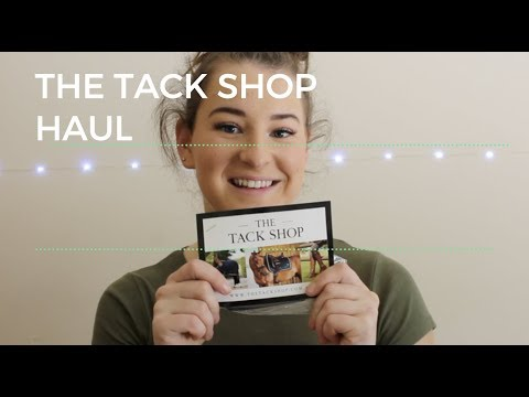 THE TACK SHOP Haul  Try on Haul  Jessica Rose Equestrian