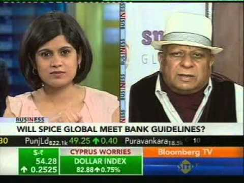 Dr B K Modi speaks to Bloomberg India TV on Spice Global's decision to enter Banking