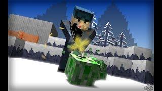 Minecraft #2 Nerwia S2 Budujemy Basen Napad Na Wioske