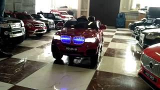 ПОЛНЫЙ ОБЗОР детского электромобиля BMW X5
