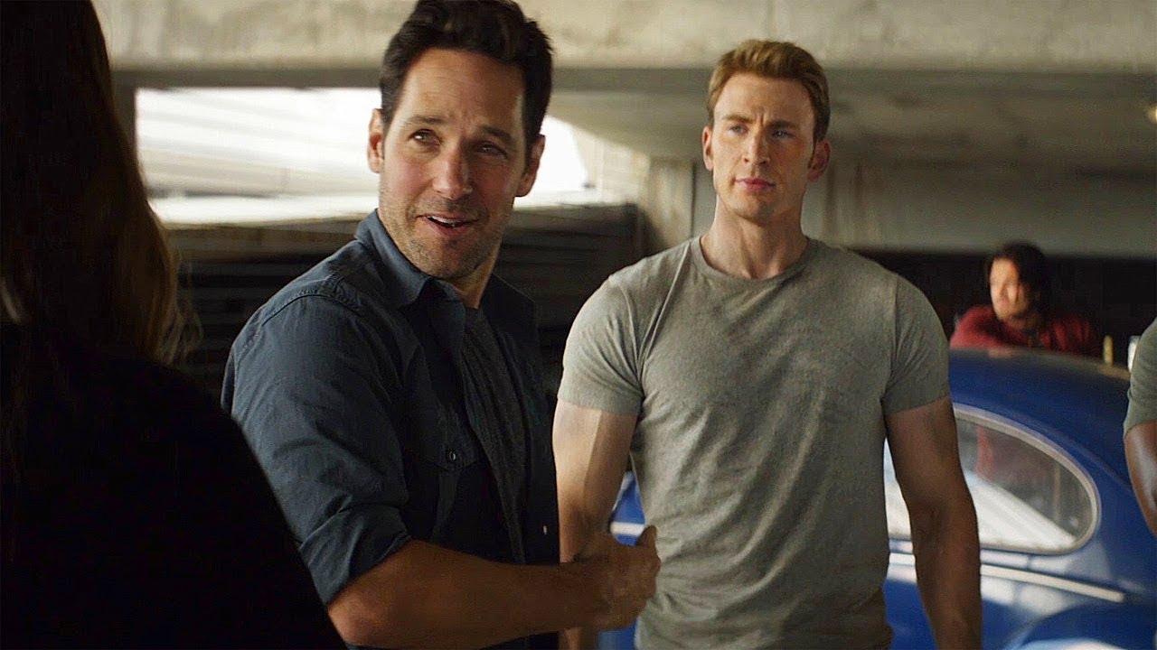 Ant-Man Meets Captain America - New Recruit Scene - Captain ...