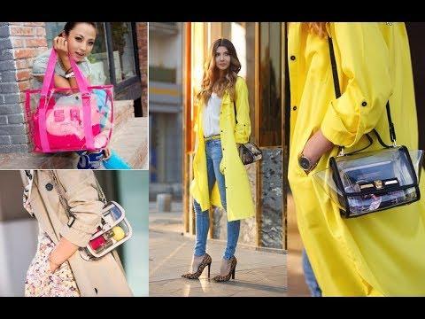 Transparent Bag Trends 2018 2019 Futuristic Accessory Lookbook