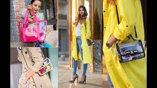 Transparent Bag Trends 2018 & 2019 Futuristic Accessory Lookbook Fashion Trends
