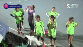 SFA Mumbai 2015 | Handball | Gopi Birla Memorial Vs Apeejay  School Girls | U12 | RR