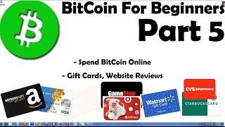 TOP 6 Gift Card Websites Using BitCoin - Website Reviews - Online Shopping - Part 5