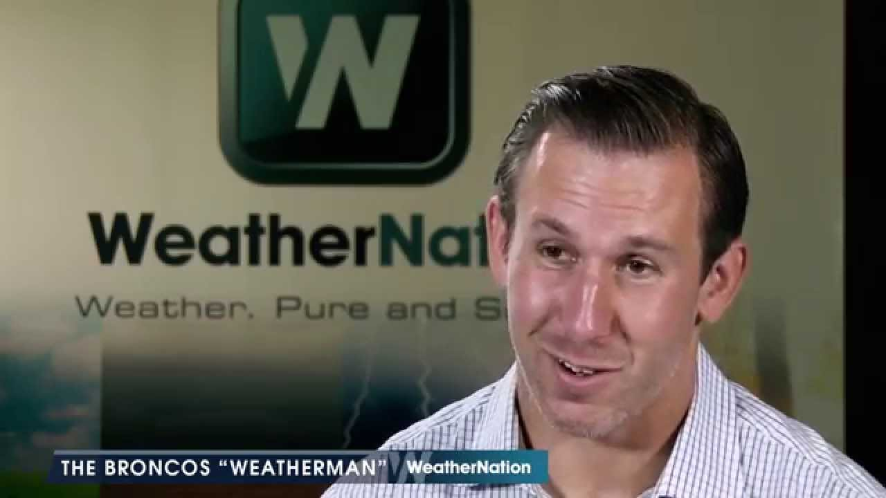 What Scared Denver Broncos Owen Daniels Into Becoming A Weatherman