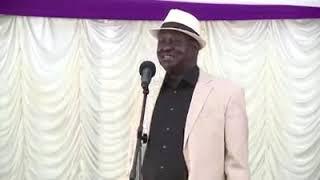 Raila Odinga the comedian