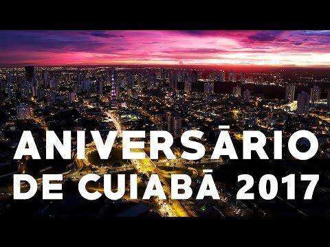 Aniversário de Cuiabá 298 Anos - Homenagem Drone Cuiabá 4K