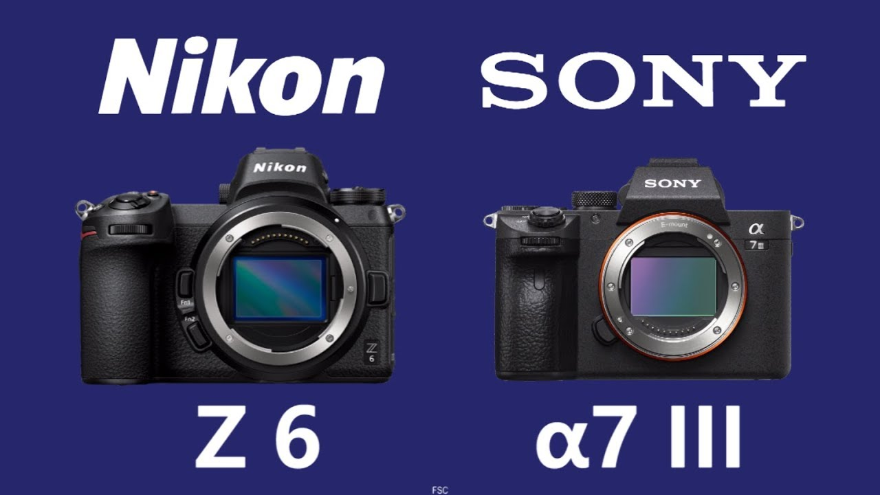 Nikon Z 6 vs Sony a7 III