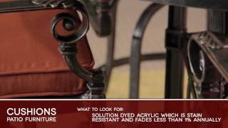 Cushions Patio Furniture Buyers Guide Video