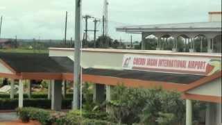 Landing At Cheddi Jagan Airport-Timehri- Georgetown Guyana.