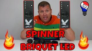Fidget Hand Spinner LED Briquet Lighter EDC Coil Test Review Francais ThinkUnBoxing 4K
