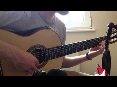 Adventure Time Ending Theme Song  The Island Song  Guitar   Callum McGaw