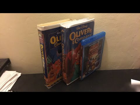 3 Different Versions Of Oliver and Company