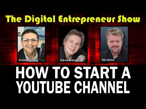 DES #5: How To Start A Successful YouTube Channel: Brian G. Johnson Interview
