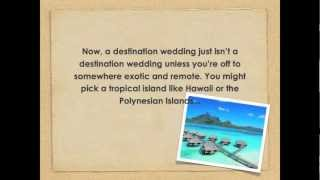 Destination Wedding Survival Tips: Planning A Destination Wedding Without Losing Your Sanity