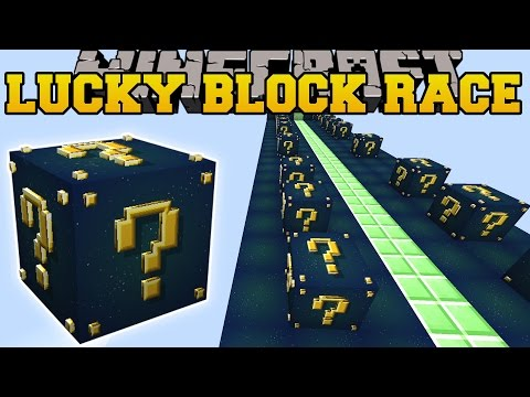 Minecraft: ROCKET TO SPACE LUCKY BLOCK RACE - Lucky Block Mod - Modded Mini-Game