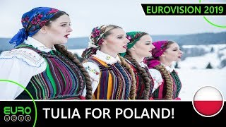 POLAND EUROVISION 2019: TULIA TO TEL AVIV! (Reaction)