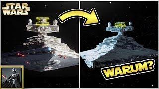 Star Wars: Warum sahen die Sternenzerstörer in Rogue One und Solo so anders aus?