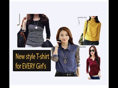 New style T-shirt for EVERY Girl's 2018 Autumn, Cotton Female  T-shirt Review