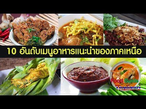 10 อาหารเหนือห้ามพลาด : Food Guide Thailand
