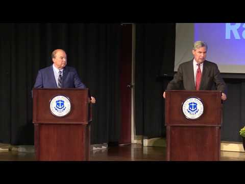 DEBATE: Senate candidates Sheldon Whitehouse and Robert Flanders square off