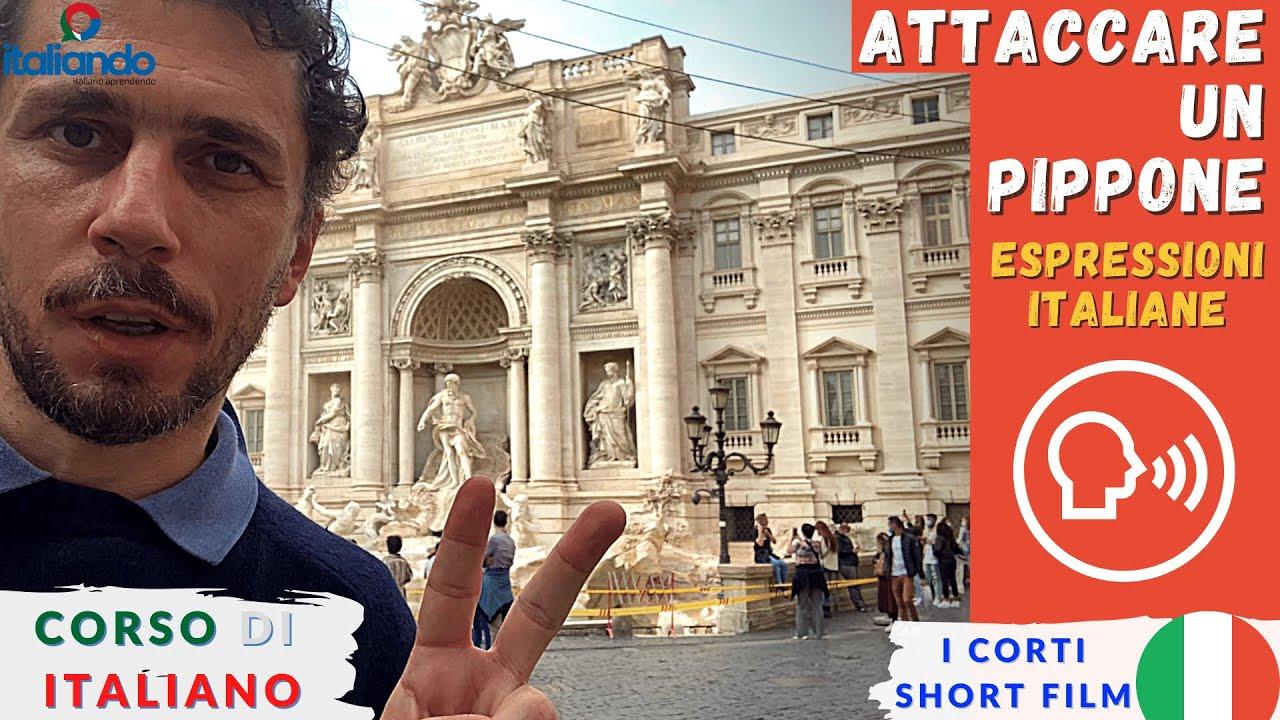 Espressioni idiomatiche: Attaccare un pippone - italiando.com.br Corso di italiano online