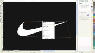 TUTORIAL: *How to do a Nike® logo in Corel Draw X3