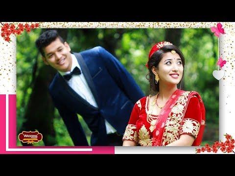 Nepali Wedding Video    Prabal Weds Prerana    Wedding Frames   Eutai Sahara timro maya ko.
