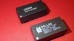 Repairing Real-Time Clock Battery (Dallas DS1287 / Odin OEC12C887)