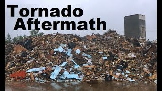 TORNADO Wilkes Barre Pennsylvania 3 MONTHS AFTER Disaster Zone