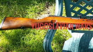 Yugo 1983 SKS 59/66A1 Part 3: Finished Product Arkans Tigers Trench Art 100% Tung Oil Restoration