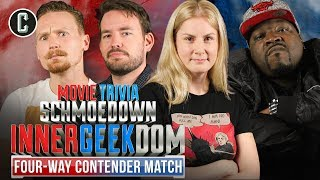 Jandreau VS Inman VS Cushing VS Washington - Movie Trivia Schmoedown Innergeekdom