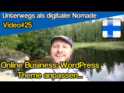 WordPress Theme anpassen für Dein Online Business