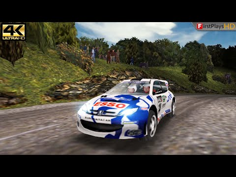 V-Rally 2 (2000) - PC Gameplay 4k 2160p / Win 10