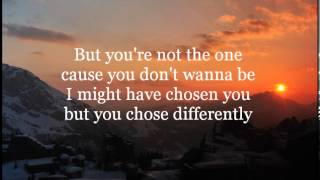 Repeat youtube video You're Not the One - Chester See (Lyrics)