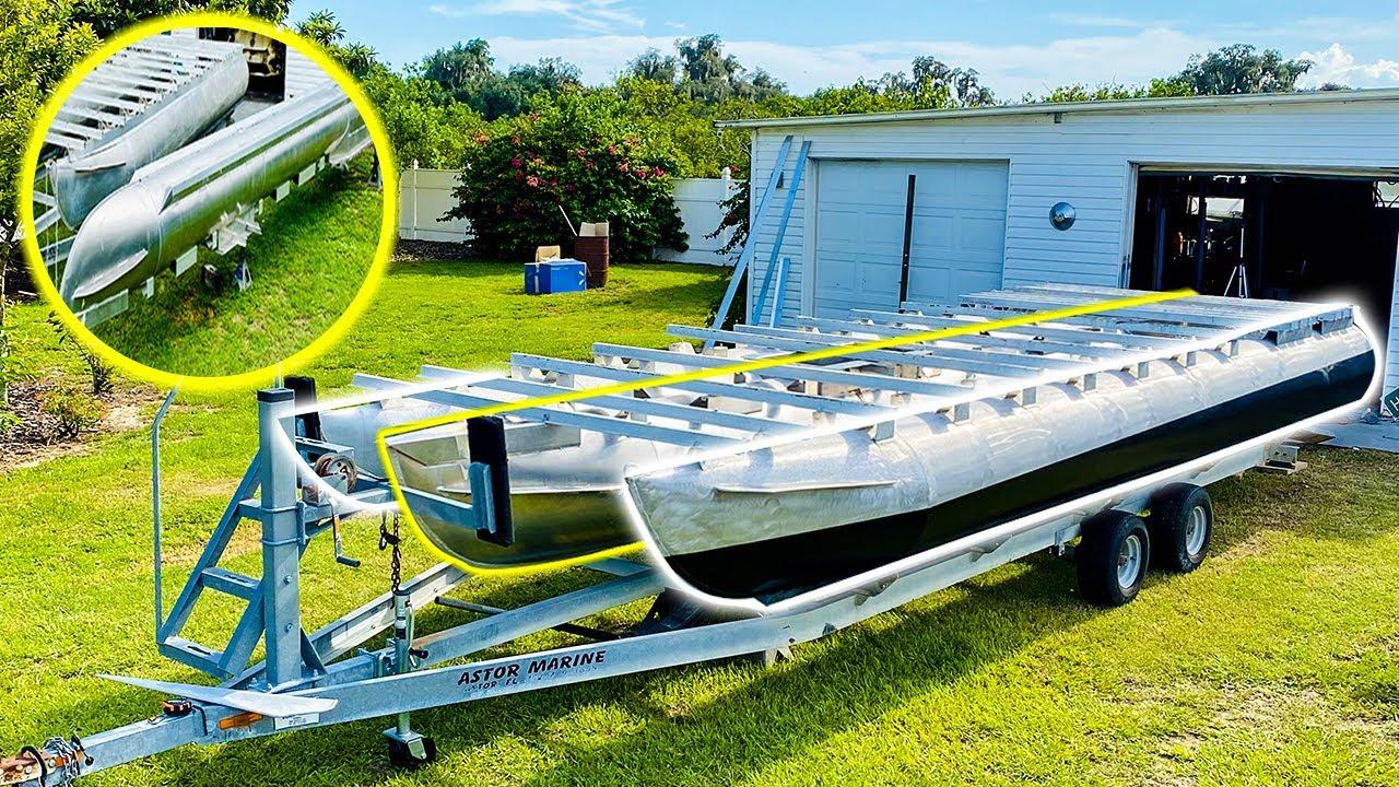 Installing an Aluminum Center Toon on my Pontoon Boat - Episode 3