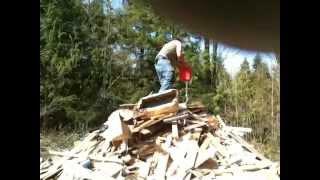 massive bonfire explosion fail!