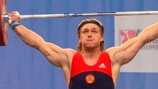 2007 European Weightlifting Championships, Men 105 kg \ Тяжелая Атлетика. Чемпионат Европы
